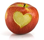 apple-with-heart