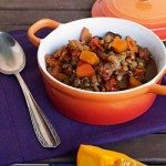 Crockpot Lentil Pumpkin Chili Picture
