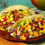 Fish Tacos with Mango Pepper Salsa Picture