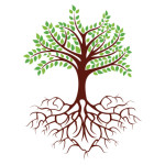 Tree and Roots - Illustration
