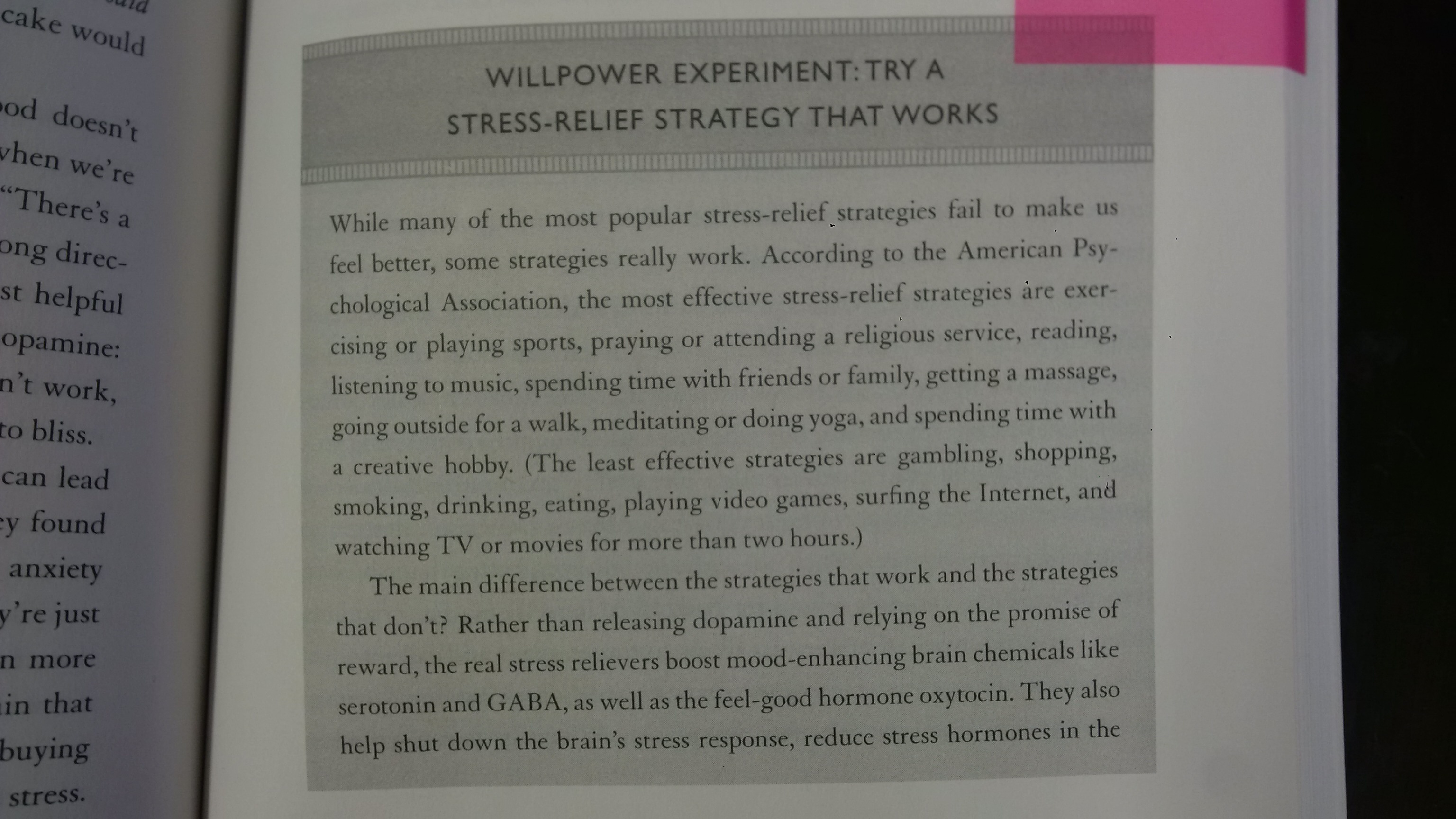 The Willpower Instinct Part 1